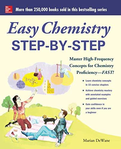 9780071767880: Easy Chemistry Step-by-Step (Easy Step-by-step Series)