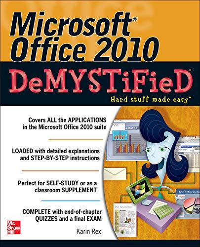 9780071767958: Microsoft Office 2010 Demystified