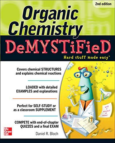 9780071767972: Organic Chemistry Demystified 2/E