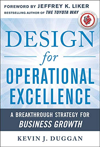 9780071768245: Design for Operational Excellence: A Breakthrough Strategy for Business Growth