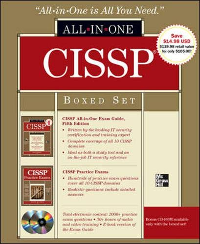 9780071768450: CISSP Boxed Set (All-In-One)