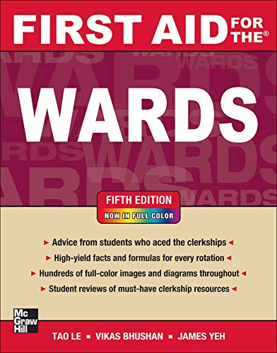 9780071768511: First Aid for the Wards, Fifth Edition (First Aid Series)