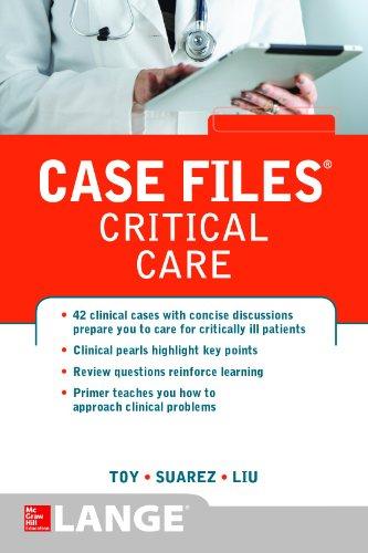 9780071768573: Case Files Critical Care (LANGE Case Files)