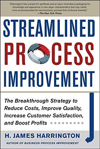 9780071768634: Streamlined Process Improvement (Business Books)