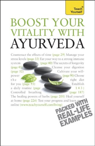 9780071768665: Boost Your Vitality with Ayurveda: A Teach Yourself Guide