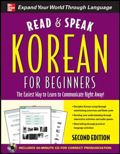 9780071768719: Read and Speak Korean for Beginners with Audio CD, 2nd Edition (Read and Speak Languages for Beginners)