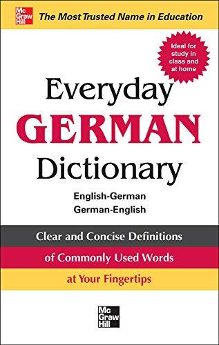 9780071768801: Everyday German Dictionary: English-German/German-English