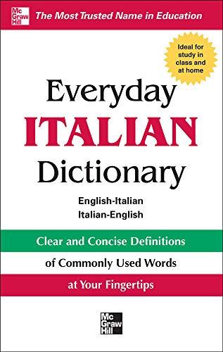 9780071768818: Everyday Italian Dictionary