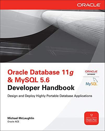 9780071768856: Oracle Database 11g & MYSQL 5.6 Developer Handbook