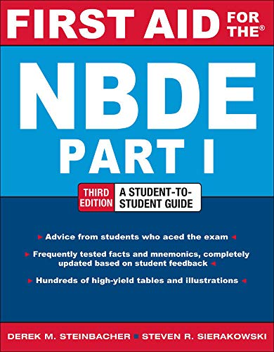 9780071769044: First Aid for the NBDE Part 1, Third Edition (First Aid Series)