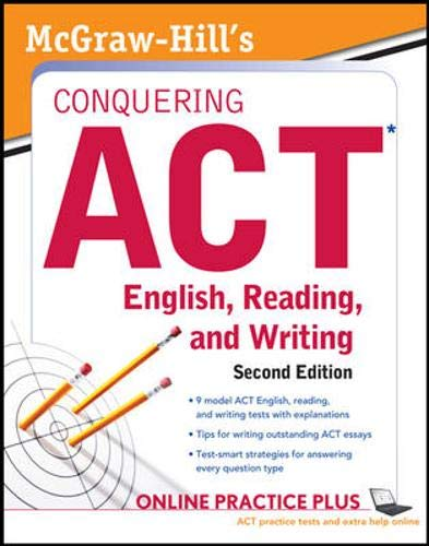 9780071769082: McGraw-Hill's Conquering ACT English, Reading, and Writing