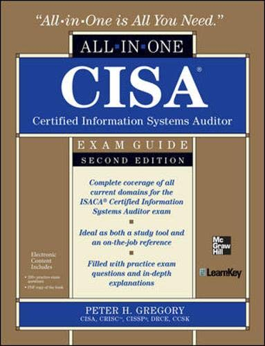 9780071769105: CISA Certified Information Systems Auditor All-in-One Exam Guide