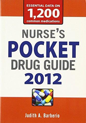 9780071769303: Nurse's Pocket Drug Guide 2012