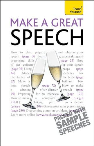 9780071769839: Make a Great Speech: A Teach Yourself Guide (Teach Yourself: General Reference)