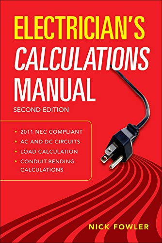 9780071770163: Electrician's Calculations Manual, Second Edition