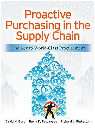 9780071770613: Proactive Purchasing in the Supply Chain: The Key to World-Class Procurement (Mechanical Engineering)