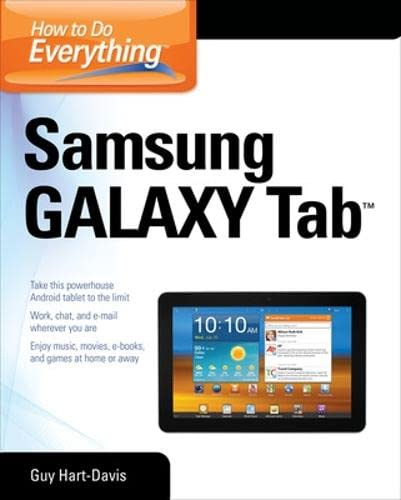 9780071771092: How to Do Everything Samsung Galaxy Tab