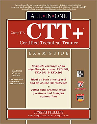 9780071771160: CompTIA CTT+ Certified Technical Trainer All-in-One Exam Guide