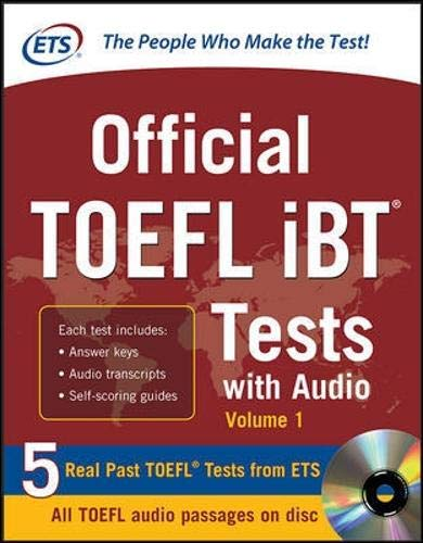 9780071771269: Official TOEFL iBT Tests with Audio