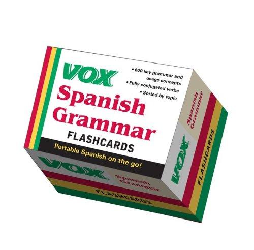 9780071771276: VOX Spanish Grammar Flashcards