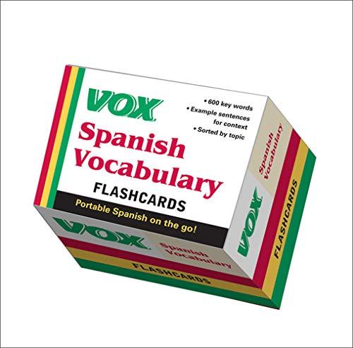 9780071771283: VOX Spanish Vocabulary Flashcards