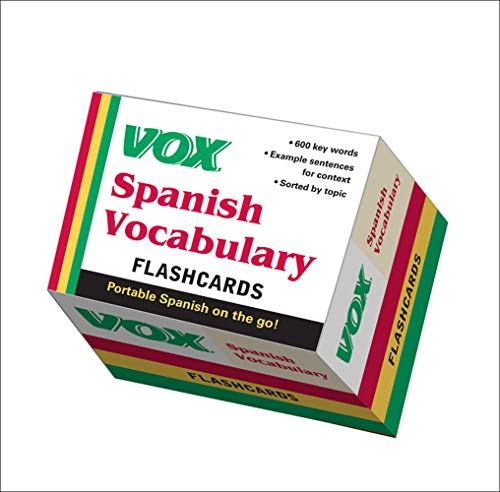 9780071771283: VOX Spanish Vocabulary Flashcards