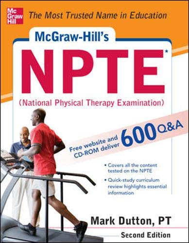 9780071771313: McGraw-Hills NPTE National Physical Therapy Exam, Second Edition