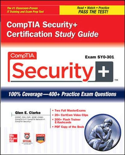 9780071771405: CompTIA Security+ Certification Study Guide (Exam SY0-301) (Official Comptia Guide)