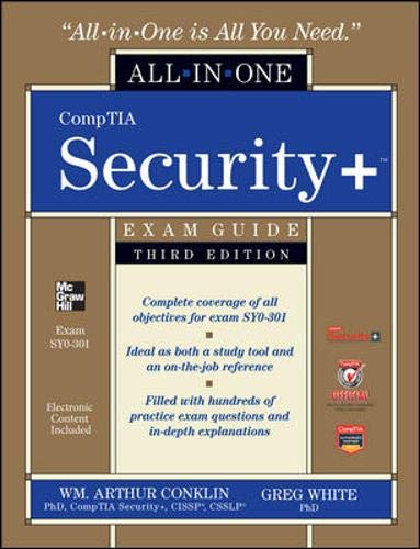 9780071771474: CompTIA Security+ All-in-One Exam Guide, Third Edition (Exam SY0-301) (Official Comptia Guide)