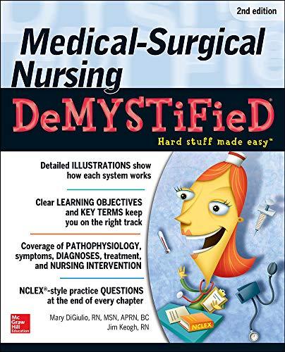 9780071771498: Medical-Surgical Nursing Demystified, Second Edition (Demystified Nursing)