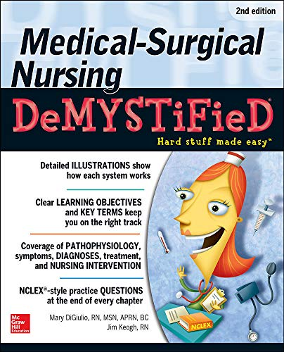 9780071771498: Medical-Surgical Nursing Demystified, Second Edition (Demystified Nursing)