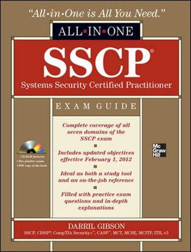 9780071771566: SSCP Systems Security Certified Practitioner Exam Guide: All-In-One [With CDROM]