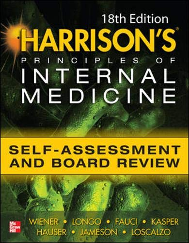 9780071771955: Harrison's principles of internal medicine self-assessment and board review