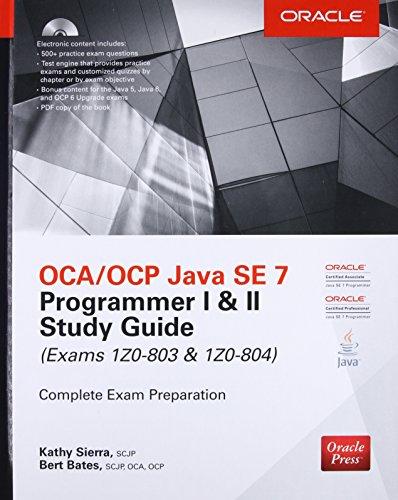 9780071772006: OCP Java SE 7 Programmer Study Guide (Certification Press)