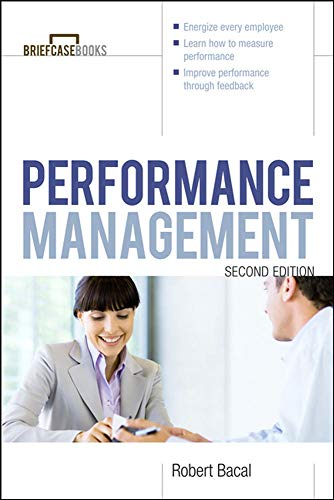 Performance Management (Briefcase Books Series): Bacal, Robert
