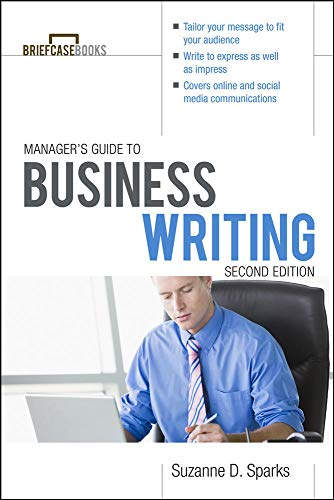 9780071772266: Manager's Guide To Business Writing 2/E (Briefcase Books Series)