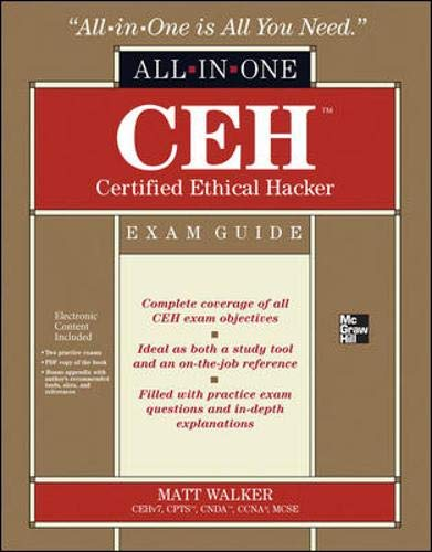 9780071772297: CEH Certified Ethical Hacker All-in-One Exam Guide