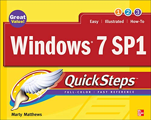 9780071772471: Windows 7 SP1 QuickSteps (Consumer Application & Hardware - OMG)