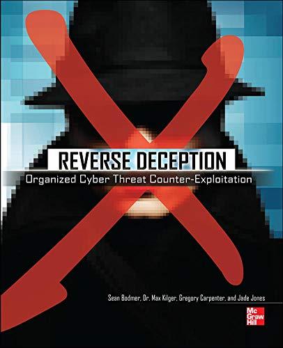 9780071772495: Reverse Deception: Organized Cyber Threat Counter-Exploitation