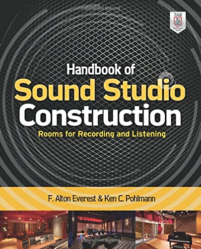 9780071772747: Handbook of Sound Studio Construction: Rooms for Recording and Listening