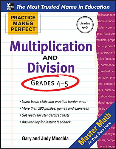 9780071772853: Multiplication and Division: Ages 9-14 (Practice Makes Perfect Series)