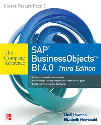 9780071773126: SAP BusinessObjects BI 4.0 The Complete Reference 3/E