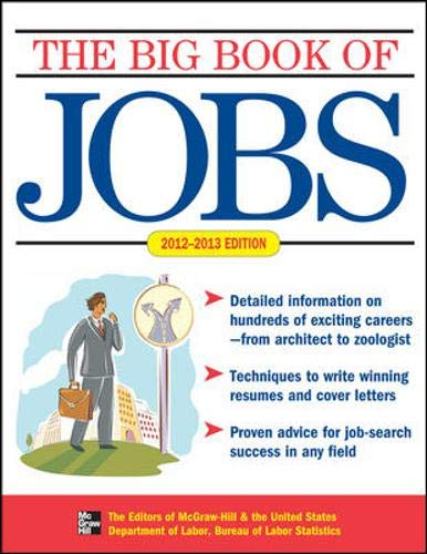9780071773515: THE BIG BOOK OF JOBS 2012-2013