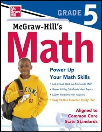 9780071775588: McGraw-Hill Math Grade 5 (Study Guide)