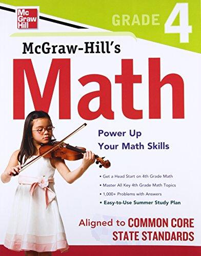 9780071775601: McGraw-Hill Math Grade 4