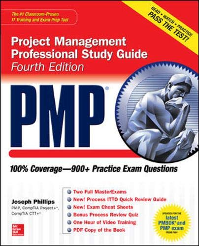 9780071775915: PMP Project Management Professional Study Guide, Fourth Edition (Certification Press)