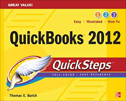 9780071775946: QuickBooks 2012 QuickSteps (Quick Guides)