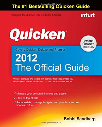 9780071776004: Quicken 2012 The Official Guide (Quicken Press)