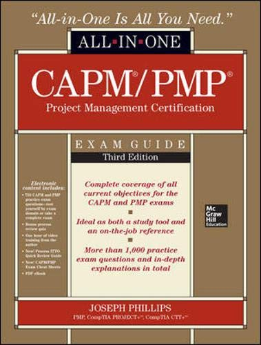 9780071776042: CAPM/PMP Project Management Certification All-In-One Exam Guide, Third Edition