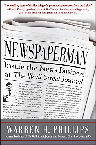 9780071776905: Newspaperman: Inside the News Business at The Wall Street Journal